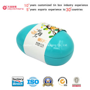 Series Packaging Bean Shaped Metal Boxes Tin Boxes (B001-V2) pictures & photos