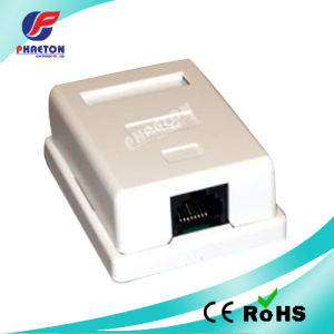 8p8c Cat5e Single Ports Surface Mount Box pictures & photos