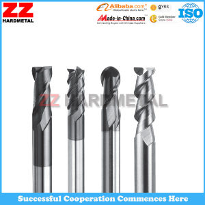 Zhuzhou Hole Machining Carbide End Milling Cutter pictures & photos