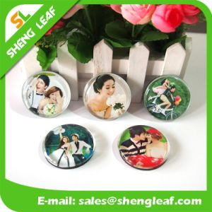 Custom Various Picture 3D Sound Glass Souvenir Fridge Magnet pictures & photos