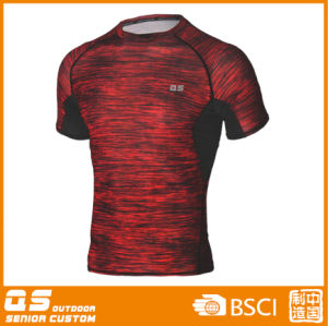 Men′s Melange Running Sport T-Shirt pictures & photos
