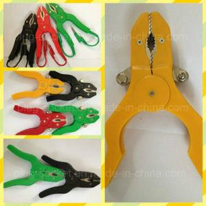 20A Copper Clip PVC Boot Battery Clip/Alligator Clip (RJ-Y123) pictures & photos