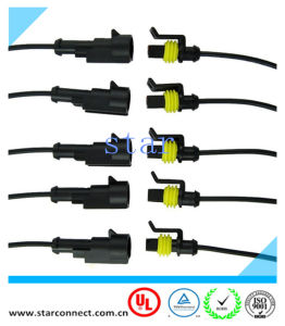 14.2mm 19.7 mm41.7mm Tyco Superseal 1.5 Connector Auto Connector Wire Harness pictures & photos
