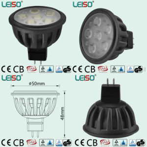 6W Standard Size 400lm Dimmable MR16 LED Spotlight (LS-S505-MR16-ED-EWWD/EWD) pictures & photos
