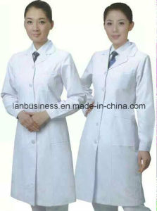 Ly Medical Dress Cotton Doctor Uniform (LY-MU005) pictures & photos