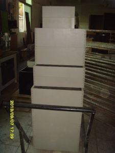 MDF Lacquer Kitchen Cabinet Kc068 pictures & photos