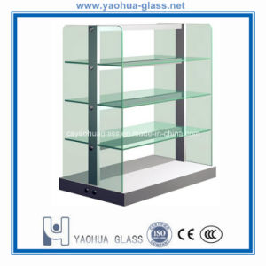Tempered Glass Shelf/Toughened Glass Plates /Glass Panels for Display or Bathroom
