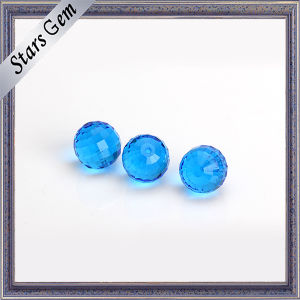 6mm Facets Cut MID Blue Glass Ball pictures & photos