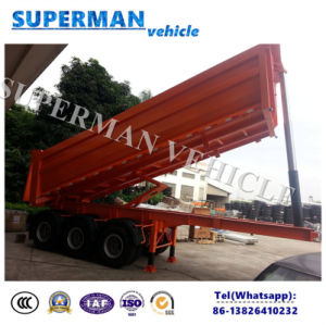 25cbm 3 Axle Front Lifting Tipper/ Tipping/Dumper Semi Truck Trailer pictures & photos
