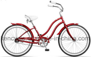 "Beautiful Design OEM Service 24"" Bicycle Beach Cruiser Bike Bicycle 24inch Women Bicycle pictures & photos"