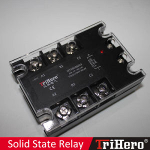 60A DC/AC SSR Solid State Relay 3-Phase pictures & photos