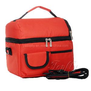 Promotional Insulated Lunch Bags with Adjustable Shoulder Strap pictures & photos