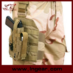 075 Drop Leg Gun Holster with Tactical Gear Pistol Holster pictures & photos