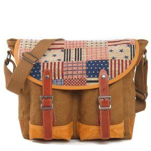 School Student Vintage Style Shoulder Bag (RS-6001B) pictures & photos