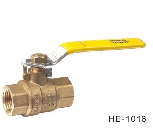 (HE1016--HE1017) Brass Ball Valve Pn30 with Level Handle for Water, Oil
