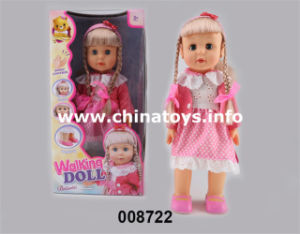 Hot Sale B/O Doll Can Walk (008722) pictures & photos