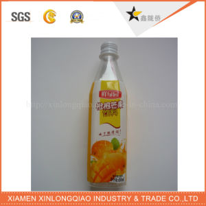 OEM Shrinking Film Printed Paper PVC Beverage Label Printing Sticker pictures & photos