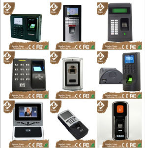 Door Access Control System with Touching Keypad Password Controller and Card Reader with Doorbell Function for Office Use pictures & photos