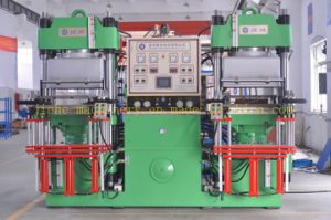 PLC Control Vacuum Hydraulic Press Machine for Rubber Components Made in China pictures & photos
