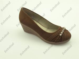 2015 New Wedge Heel Ladies Shoes Popular Ladies Shoes
