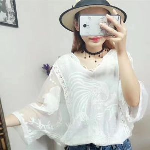 Fashion Sexy Lace Top Dress, Leasure Knit Garment for Girls, Lace Outwear pictures & photos