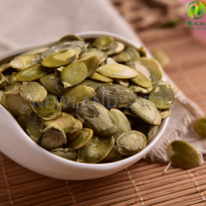 Green Snow White Pumpkin Seeds Kernels with Benefits pictures & photos
