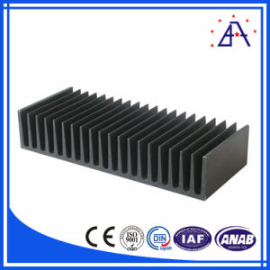High Quality 6063-T5 Anodized Heatsink Extrusions pictures & photos