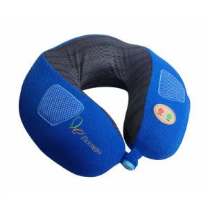U-Shape Vibrating Neck Massager, Car Massage Pillow Wtih Music pictures & photos