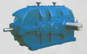 DBY Cylindrical Helical Gearbox for Packing Machine