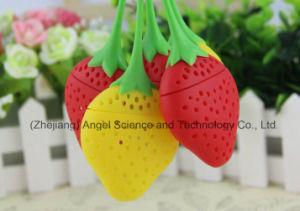 Popular Strawberry Silicone Tea Tool / Tea Strainer St03 pictures & photos