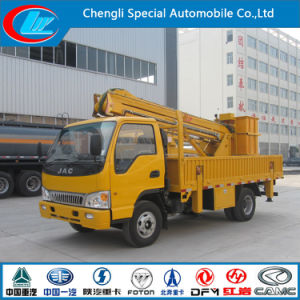 Good Quality JAC 4X2 16m High Platform Truck for Sale pictures & photos