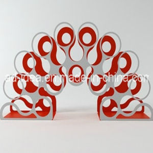 Metal Laser Cutting Display/Special Design Exhibition Stand pictures & photos