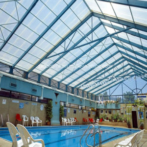 20mm Polycarbonate Triple Wall Sheet for Swimming Pool Cover pictures & photos