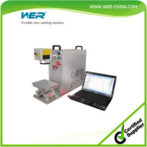 High Tech Portable Laser Marking Machine pictures & photos