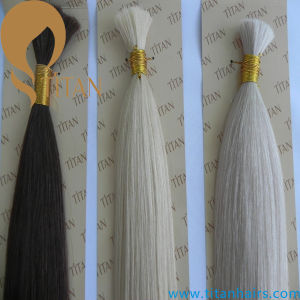 Best Quality Virgin Human Hair Brazilian Bulk Hair pictures & photos