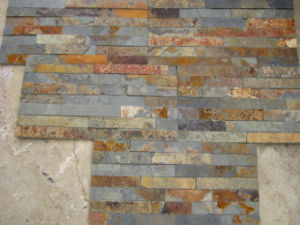 Roofing Cultured Rusty Slate for Wall pictures & photos