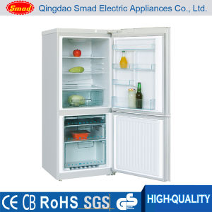 Home Double Door Manual Defrost Bottom Freezer Combi Fridge pictures & photos