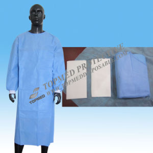 High Quality Steriled Reinforced Surgical Gown /SMS/SMMS/PP Surgical Set/Medical Set pictures & photos