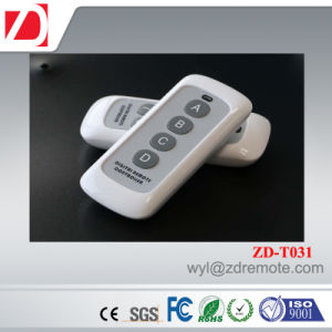 Good Look Long Working Distance 4 Letter Buttons RF Wireless Remote Control pictures & photos