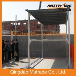 2-4 Floors Underground Four Post Hydraulic Parking System pictures & photos