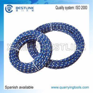 Stone Block Saw Cutting Diamond Wire Rope with Various Diameter pictures & photos