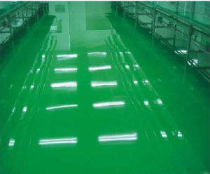 Hualong Solvent-Free Self Leveling Epoxy Floor Paint for Dust-Free Room Floor pictures & photos