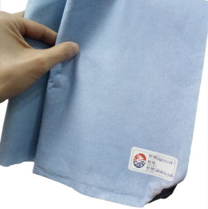 Flame Retardant Type5/Type6 Spunlaced Nonwoven Fabric Cellulose&Polyester pictures & photos
