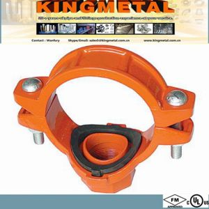 FM/UL Fire Fighting Pipe Fittings Threaded Mechanical Tee, pictures & photos