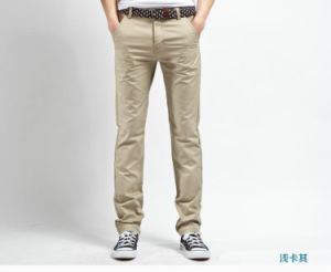 OEM Men Pants High Quality 100% Cotton Fashion Trousers pictures & photos