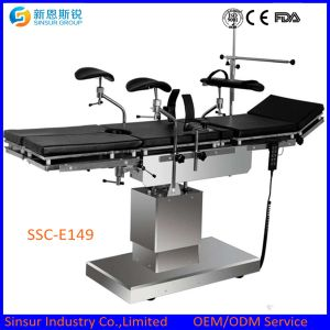 Patient surgery OT medical equipment electric motor multi-function operation tables pictures & photos