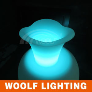 Light up LED Lighted Planter Flower Pots for Sale pictures & photos