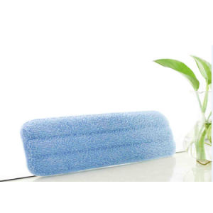 Two Size Blue Color Microfiber Flat Mop Pad pictures & photos