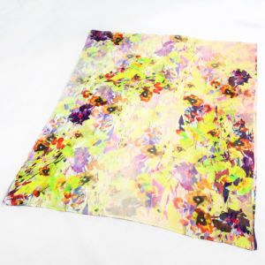 The Factory Custom Colorful Silk Crepe Georgette X-Large Scarf pictures & photos