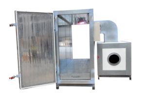 LPG/Gas Heating Type Industrial Powder Coating Curing Oven pictures & photos